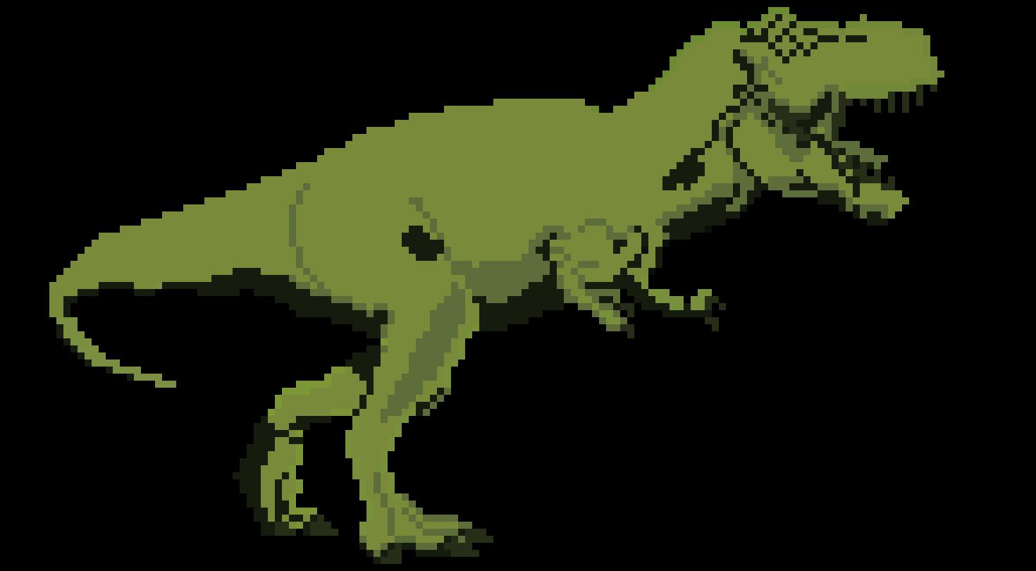 Keptalalat A Kovetkezore Dinosaur Pixel