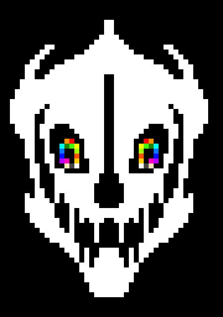 [1e16d] Rainbow Gaster Blaster