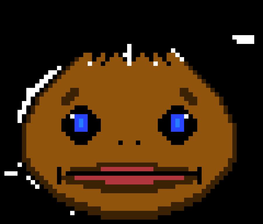goron mask pixel art maker