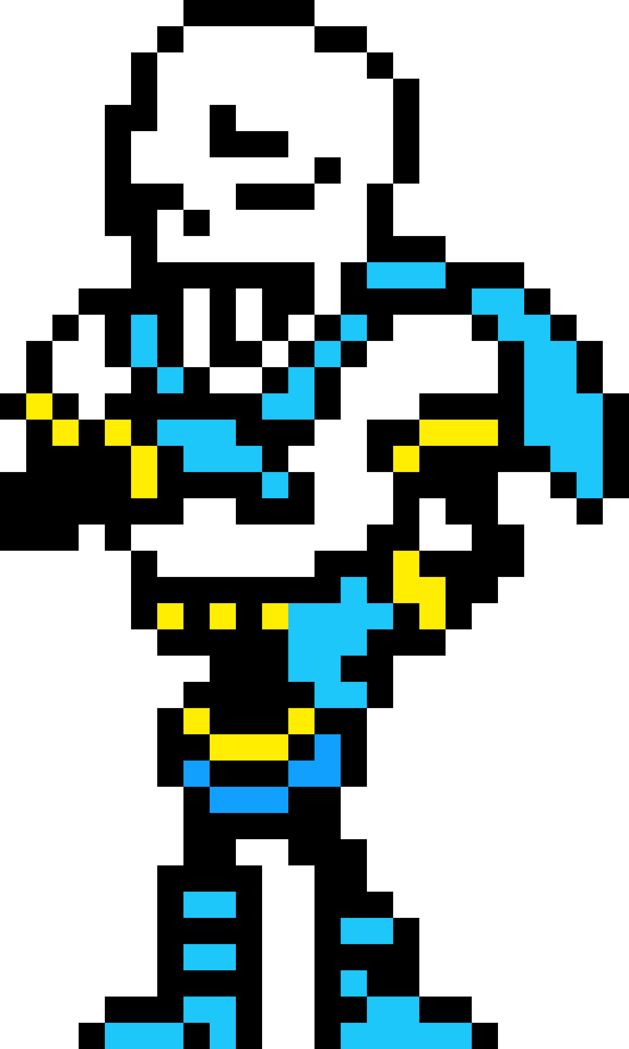 blue pap