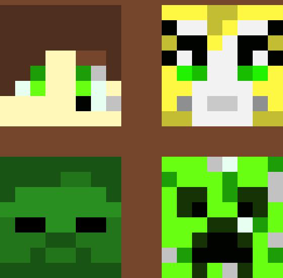 minecraft heads pixel art maker