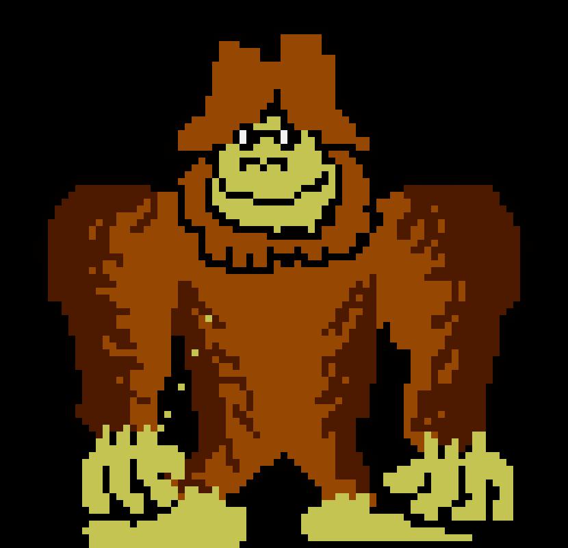 Bigfoot Pixel Art Maker