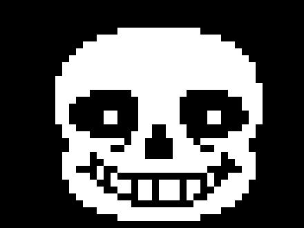 sans face | Pixel Art Maker