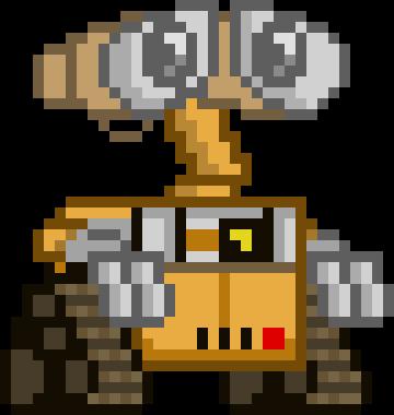 BETTER WALL-E | Pixel Art Maker