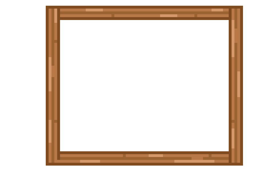 wooden frame | Pixel Art Maker