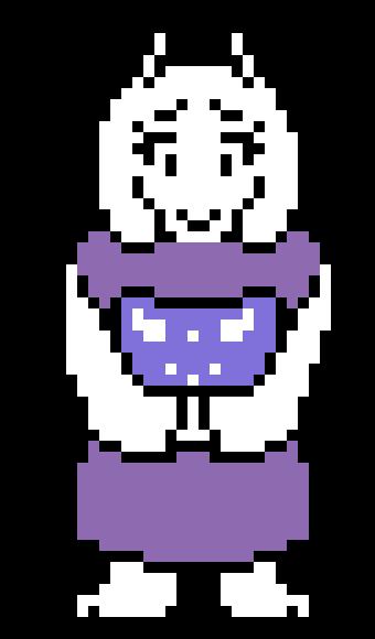pixel art undertale toriel