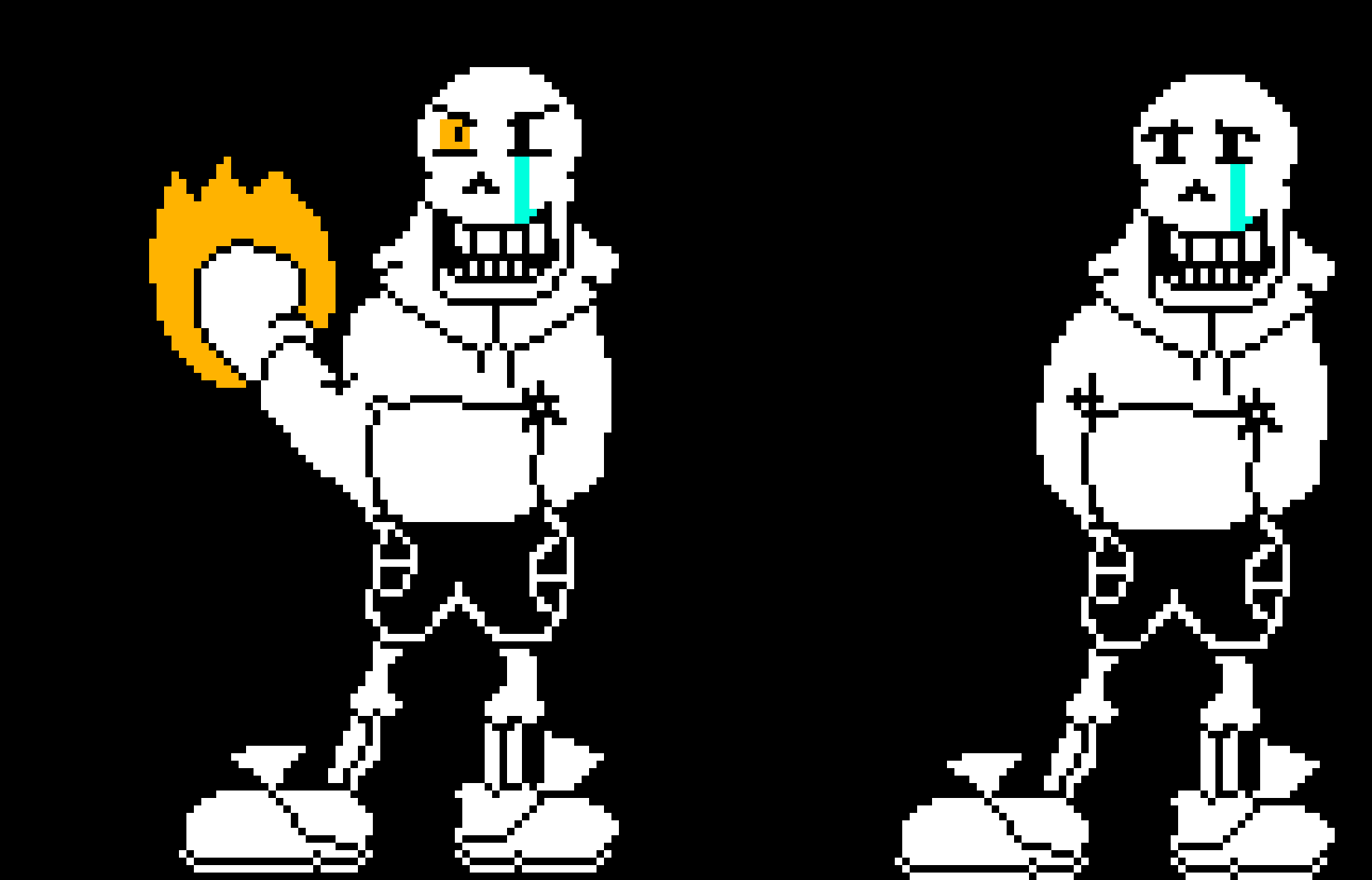 HARD MODE US!PAPYRUS FULL | Pixel Art Maker