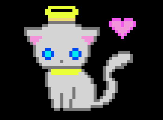 Angel Cat Pixel Art Maker