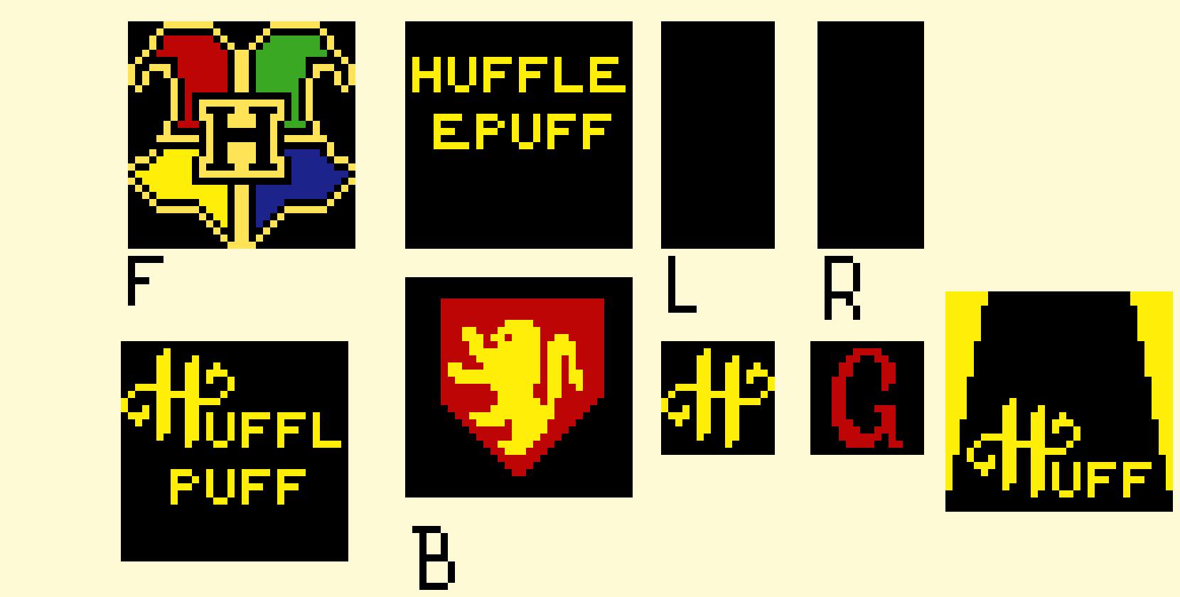Acnl Hogwarts Pixel Art Maker