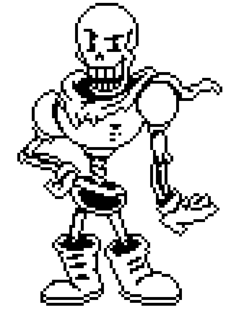 Papyrus Sprite Pixel Art Maker The best gifs are on giphy. pixel art maker
