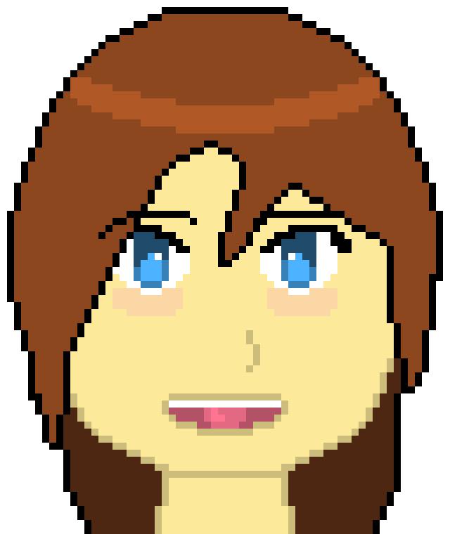 Anime Girl (by Lady Star) | Pixel Art Maker