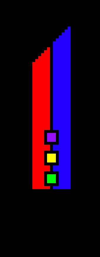Pixel blade