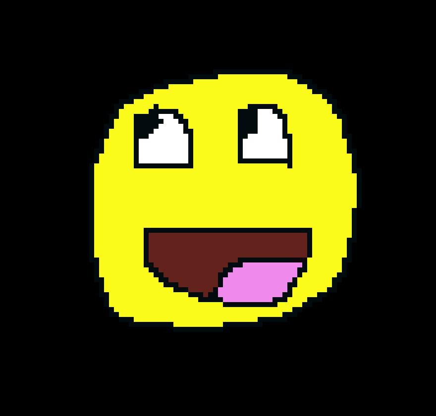 Smiley Face Pixel Art Maker
