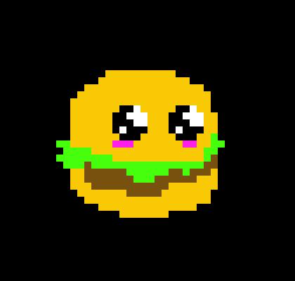 Pixel Art Hamburger Images