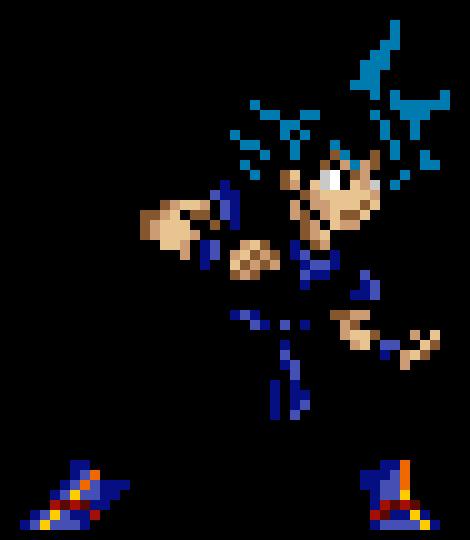 Dragon Ball Z Goku Pixel Art Maker