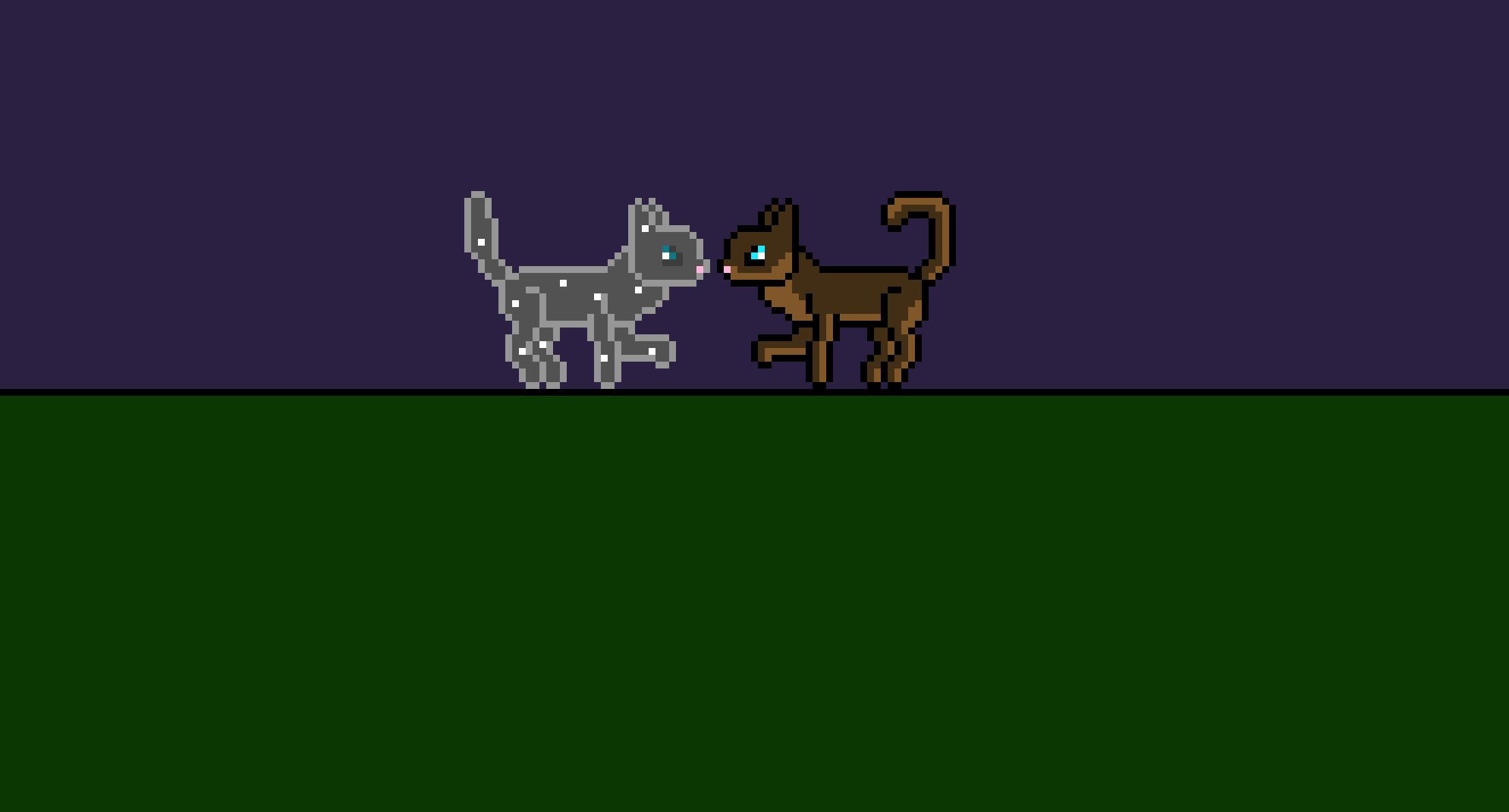 Warrior Cats) Woodstar and (StarClan warrior) Mistfur