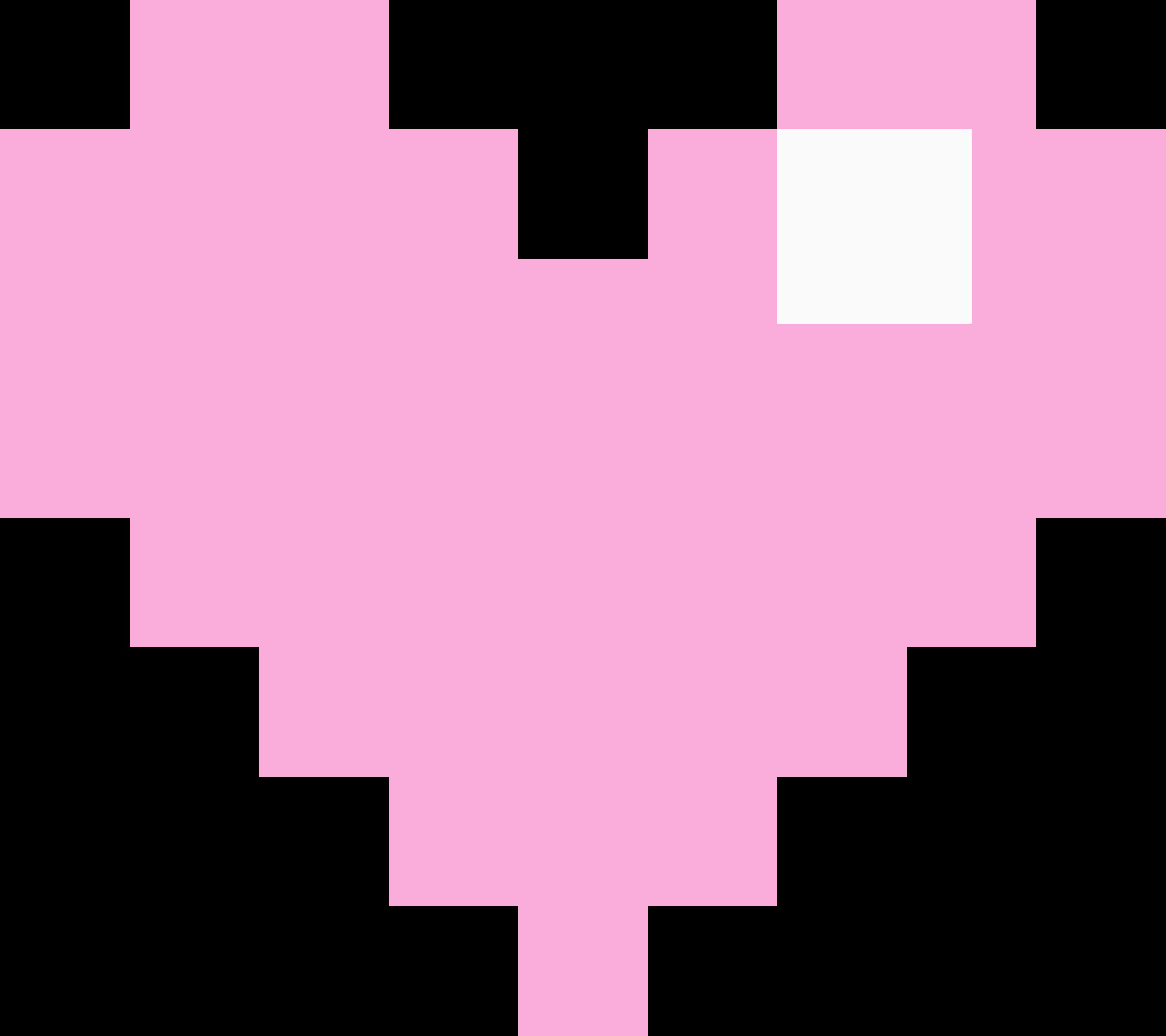 pinky heart   Pixel Art Maker