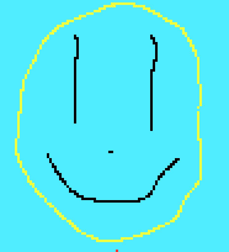 Smiley Face Pixel Art Pixel Art Maker