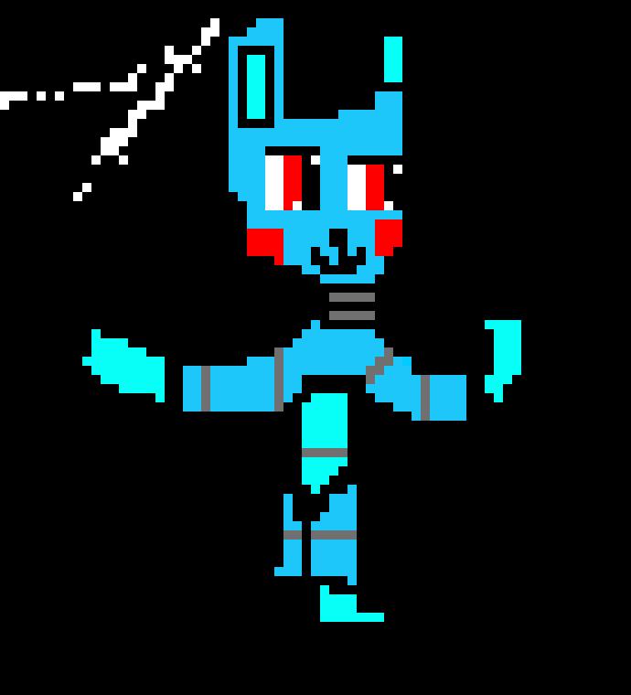 Fnaf Toy Bonnie Pixel Art Maker