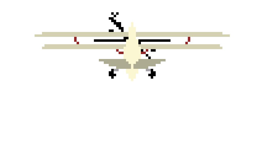 PLANE FRAME 3 | Pixel Art Maker