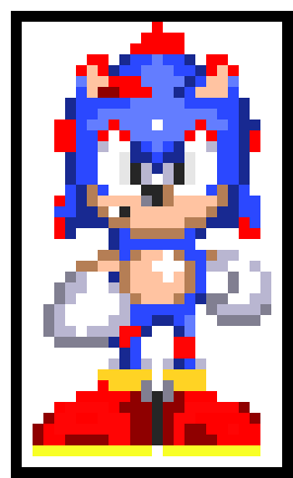 Sonic 3 Running Sprite | Pixel Art Maker