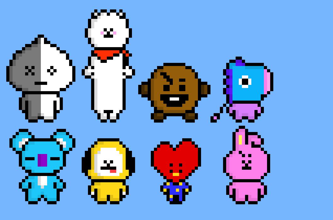 BT21 | Pixel Art Maker