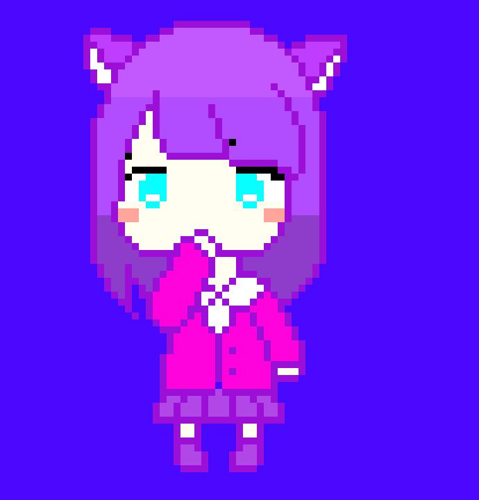 Anime Girl | Pixel Art Maker