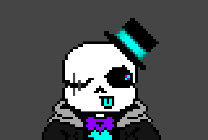 wait a minute BILL WHY THE FUCK ARE YOU BEING THAT SANS IS BAD GUY!(i checked the canvas and it had you in)