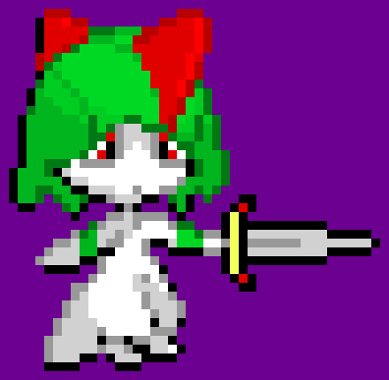 The Warrior Ralts (The First Evolution Of The Gardevoir Warrior) - By TGW