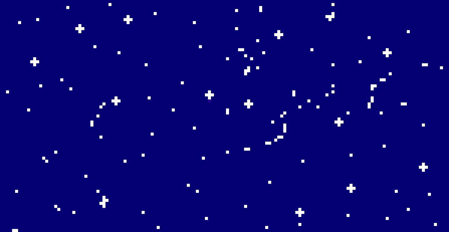 Space Background Pixel Art Maker