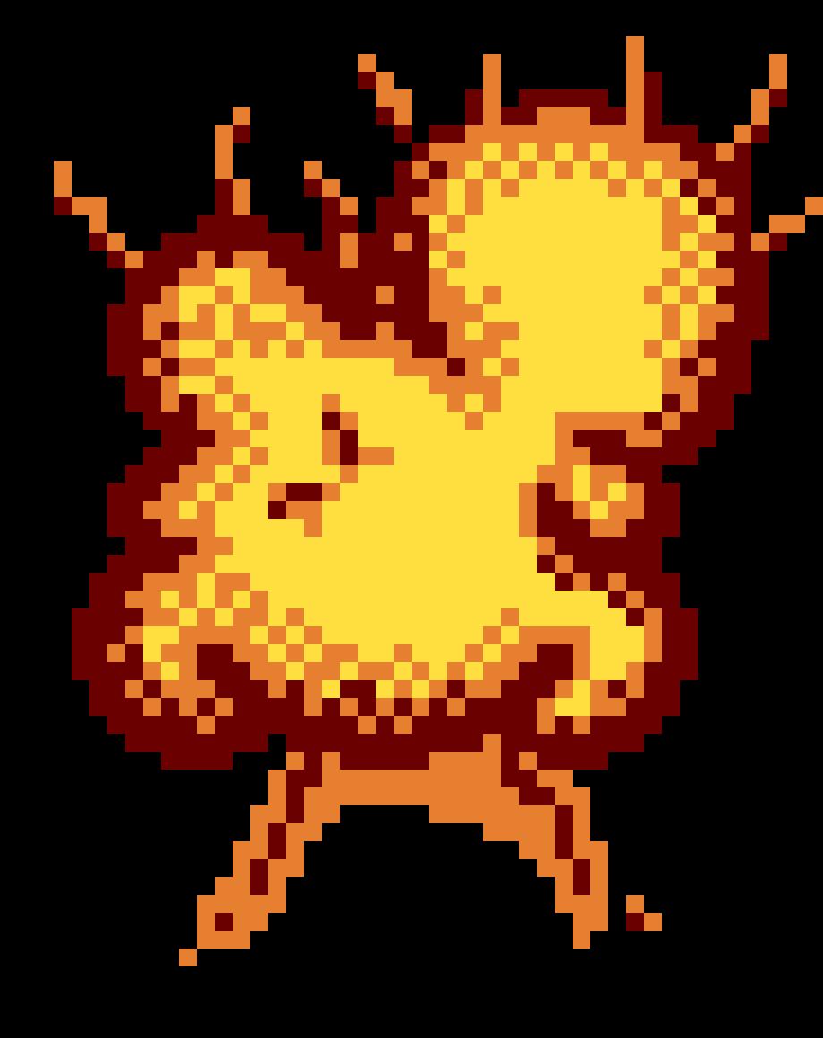 Calendar Maker Art Explosion : Explosion pixel art maker