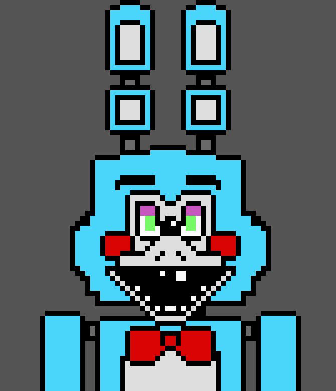 Toy Bonnie First Px Art Pixel Art Maker