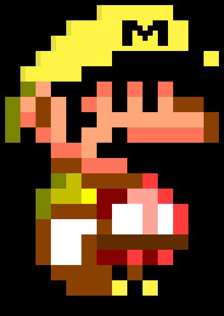 Mario Maker Mario SMW | Pixel Art Maker