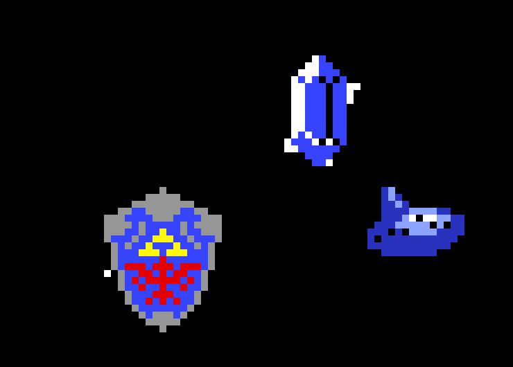 Ocarina Of Time Items Pixel Art Maker