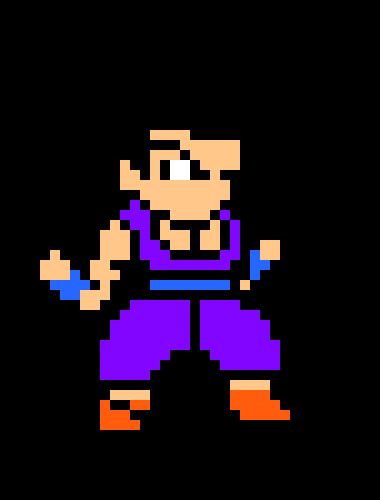 Gohan San Pixel Art Maker