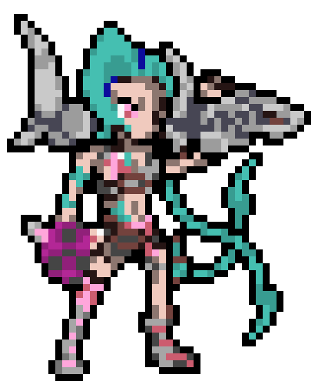 pixel art jinx