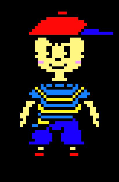 Ninten (Mother 1) | Pixel Art Maker