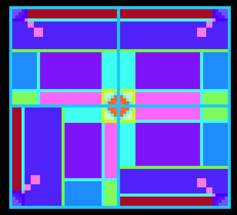Yahya`s math quilt | Pixel Art Maker