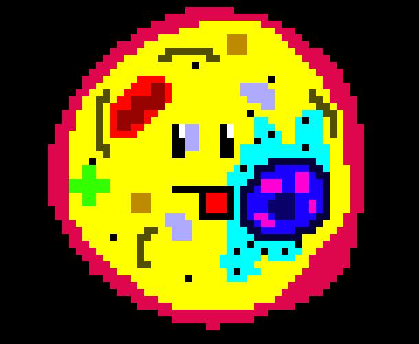 Animal Cell Derp Pixel Art Maker
