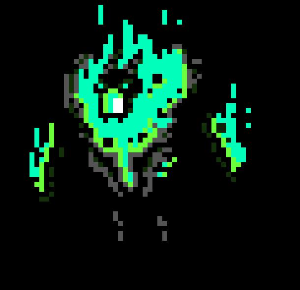 Blue Flame Boss