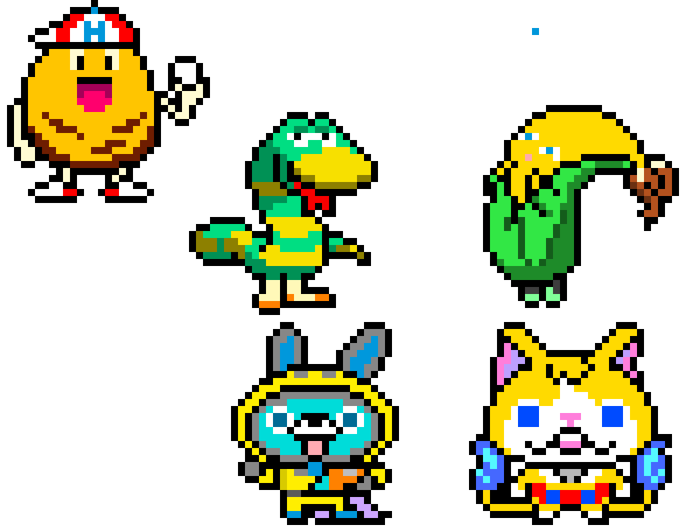 Yo Kai Watch 3 Pixel Art Maker