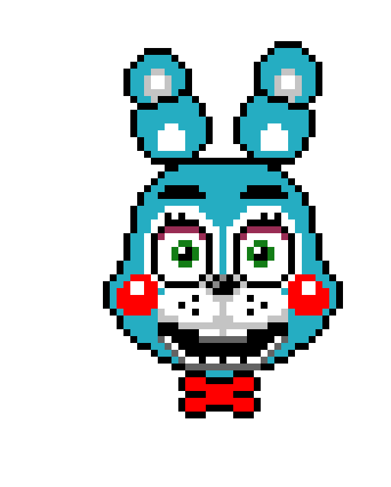 Toy Bonnie Pixel Art Maker