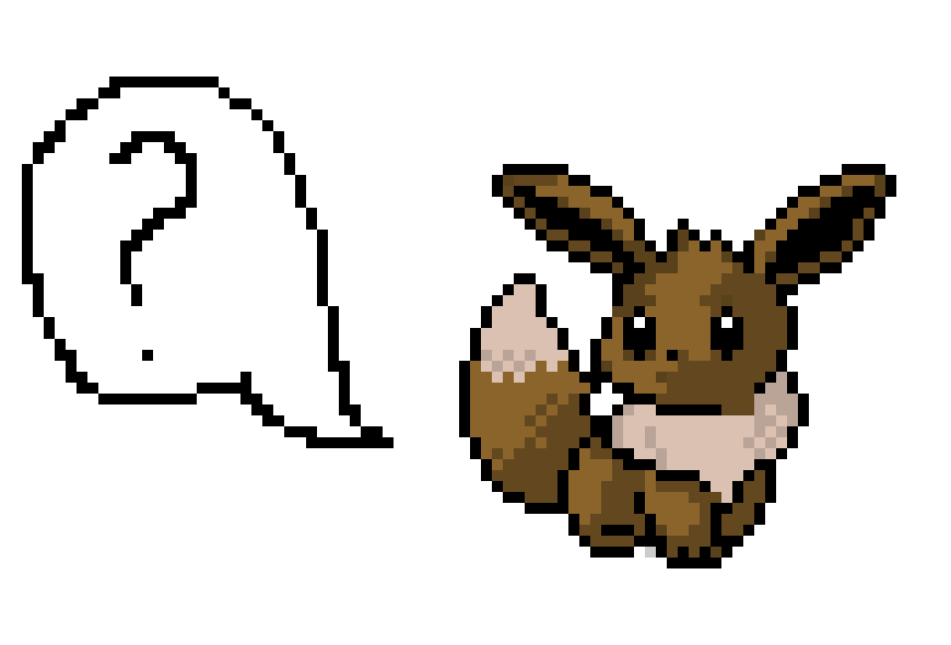 Eevee is confused