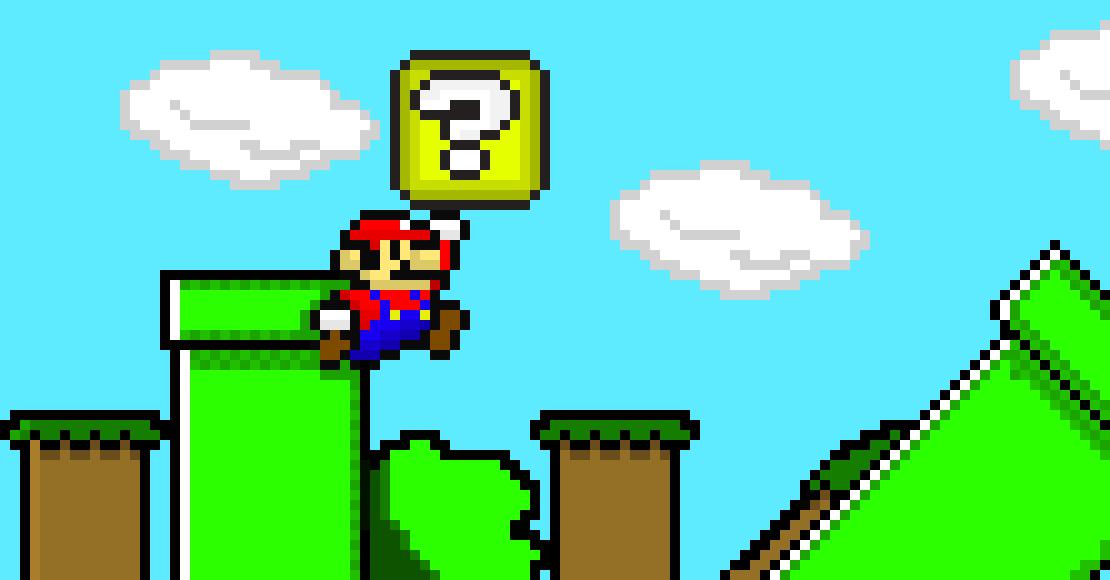 Super Mario Bros 3 Pixel Art Maker