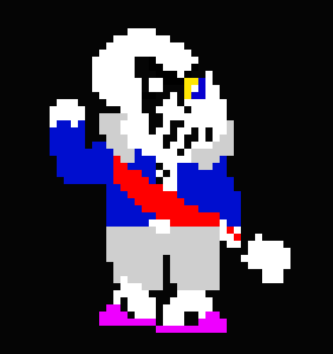 Ulb Sans Phase 2 Remake Pixel Art Maker