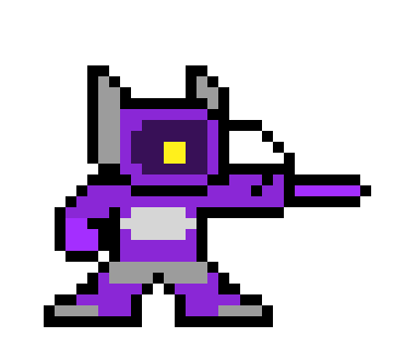 Shockwave Transformers Pixel Art Maker