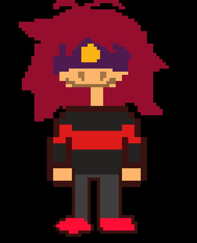 deltarune oc mary   Pixel Art Maker