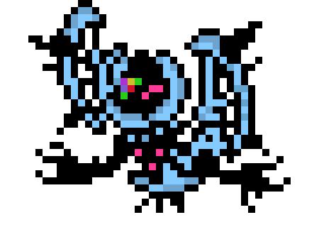Lunala Necrozma Thing Pixel Art Maker