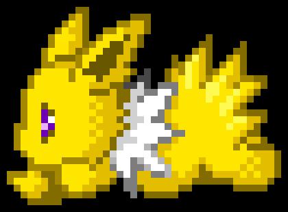 jolteon pixel art