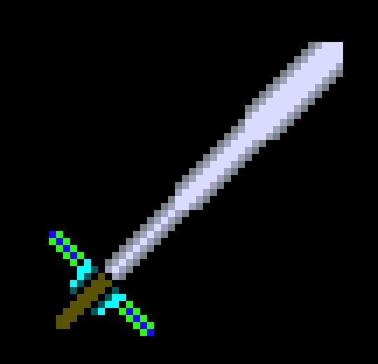 Custom Sword #1 | Pixel Art Maker